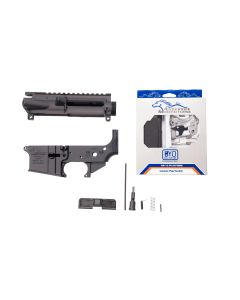 Anderson AM-15 Forged AR15 Matched Receiver Set - Includes Parts Kit