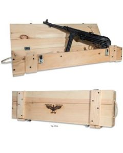 "ATI GSG MP-40 Pistol - Black   9mm   10.8"" Barrel   In Wooden Crate"