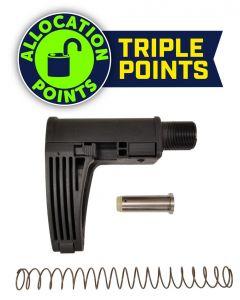 Gear Head Works Tailhook MOD 2C Pistol Brace - Black | For 9mm AR-15