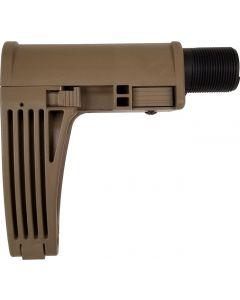 Gear Head Works Tailhook MOD 2C Pistol Brace - FDE   No Buffer or Spring