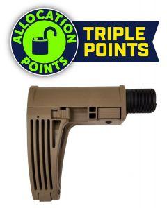 Gear Head Works Tailhook MOD 2C Pistol Brace - FDE | No Buffer or Spring