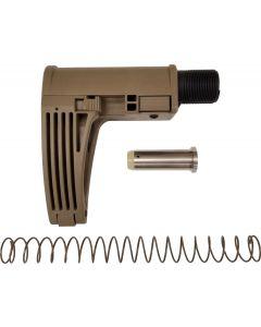 Gear Head Works Tailhook MOD 2C Pistol Brace - FDE   For 9mm AR-15