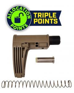 Gear Head Works Tailhook MOD 2C Pistol Brace - FDE | For 9mm AR-15