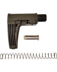 Gear Head Works Tailhook MOD 2C Pistol Brace - OD Green   For Rifle Caliber AR-15