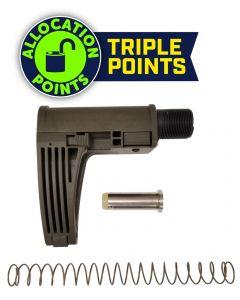 Gear Head Works Tailhook MOD 2C Pistol Brace - OD Green | For 9mm AR-15