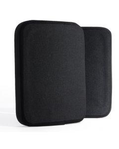 Guard Dog Tactical Level lV 6X8 Ceramic Plates | 3.2 Lbs/Per - Black|Pair of 2