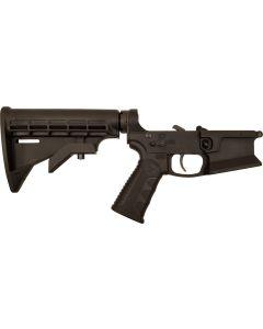 KE Arms KE-15 Billet Flared Magwell Complete AR15 Lower - Black | M4 Buttstock | Xtech Grip | SLT-1 Trigger | Ambi Selector & Mag Release