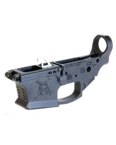 KE Arms KE-9 Billet Stripped Glock 9mm Lower Receiver - Black | Ambidextrous