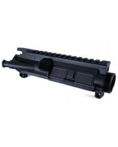 KE Arms Forged KE-15 Upper Receiver - Black | Includes Forward Assist & Ejection Port Cover