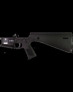 KE Arms KP-15 Polymer Complete AR15 Lower Receiver - Black | SLT Trigger & Ambidextrous Controls | Integral Buttstock & Pistol Grip