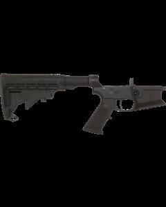 KE Arms KE-15 Billet Flared Magwell Complete AR15 Lower - Black | Xtech Grip | DMR Trigger