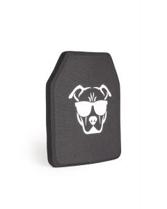 Guard Dog Tactical Level IV 10X12 Ceramic Plate | 6.5 Lbs/Per - Black