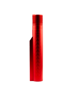 Alien Armory Tactical LUNAR 6 Mil-Spec Buffer Tube - Red | 7075 Aluminum | 6-Position