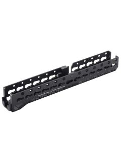 Manticore Arms ALPHA AK Rail - Black | KeyMod | Lower Forend Only | Extended Length