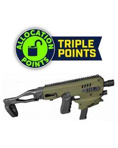 CAA MCK Gen 2 Micro Conversion Kit  - OD Green | Fits Glock 17, 19, 19X, 22, 23, 31, 32, G45
