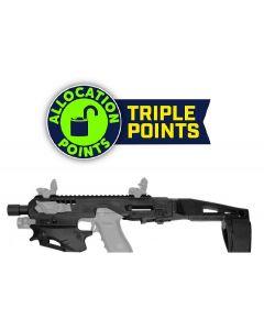 CAA Micro Conversion Kit - Black | Fits Glock 17, 19, 19X, 22, 23, 31, 32, G45