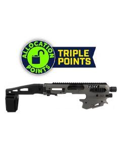 CAA Micro Conversion Kit - Tungsten | Fits Glock 17, 19, 19X, 22, 23, 31, 32, G45