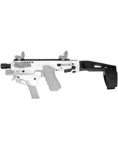 CAA Micro Conversion Kit - White | Fits Glock 17, 19, 19X, 22, 23, 31, 32, G45