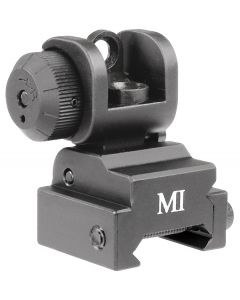 Midwest Industries ERS Flip Up Rear Sight - Black