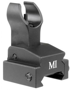 Midwest Industries Flip Up Front Sight - Black | Rail Height