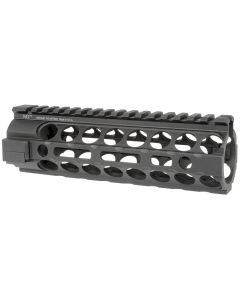 Midwest Industries Gen2 Two Piece Free Float AR15 Handguard - Black | Carbine Length | M-LOK