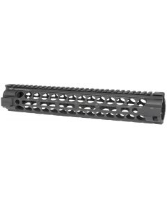 Midwest Industries Gen2 Two Piece Free Float AR15 Handguard - Black | Rifle Length | M-LOK