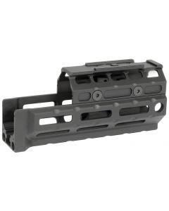 Midwest Industries Gen2 Universal AK Handguard - Black | Standard Length | T1 Topcover | M-LOK