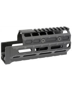 Midwest Industries Gen2 Y70M Handguard - Black | Standard Length | Railed Topcover | M-LOK