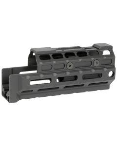 Midwest Industries Gen2 Y70M Handguard - Black | Standard Length | MRO Topcover | M-LOK