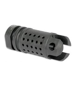 Midwest Industries AK Tactical Flash Compensator - M14x1.0 LH threads | Fits Standard AK 7.62x39 Rifle