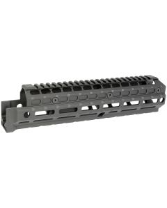Midwest Industries Gen2 Y70M Handguard - Black | Extended Length | Railed Topcover | M-LOK