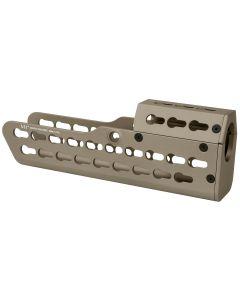 Midwest Industries Tavor SAR Handguard - FDE | KeyMod | XL Length