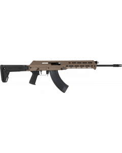 "M+M Inc M10X AK-47 Rifle - FDE | 7.62x39 | 16.5"" Barrel | Short Handguard | Left Side Charging Handle | Magpul Zhukov Side-Folding 5-position Collapsible Stock"