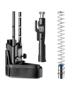 "Maxim Defense SCW Pistol Stabilizing Brace - Black | 5-Position Adjustable | Standard Buffer | 4"" Collapsed Length"