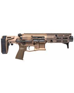 "Maxim Defense PDX Aluminum AR Pistol - FDE | 7.62x39 | 5.5"" Barrel | Hate Brake | SCW PDW Brace"