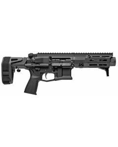 "Maxim Defense PDX Aluminum AR Pistol - Black | 7.62x39 | 5.5"" Barrel | Hate Brake | SCW PDW Brace"