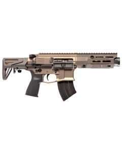 "Maxim Defense PDX Aluminum AR SBR - FDE | 7.62x39 | 5.5"" Barrel | Hate Brake | SCW Stock"