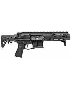 "Maxim Defense PDX Aluminum AR SBR - Black | 7.62x39 | 5.5"" Barrel | Hate Brake | SCW Stock"