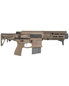 "Maxim Defense PDX Aluminum AR SBR - FDE | 5.56NATO | 5.5"" Barrel | Hate Brake | SCW Stock"