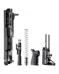 "Maxim Defense PDX Complete SBR Upper Kit For AR15 - Black | 5.56NATO | 5.5"" Barrel | Hate Brake | SCW Stock"