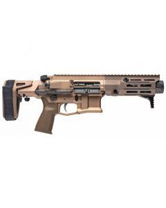 "Maxim Defense PDX Aluminum AR Pistol - FDE | 300BLK | 5.5"" Barrel | Hate Brake | SCW PDW Brace"