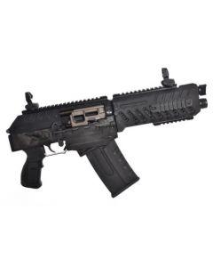 "FosTech Origin-12 SABS Semi-Automatic Breaching Shotgun (AOW) - Black w/ Nickel Internals | 12ga | 9.75"" Barrel"