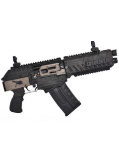 "FosTech Origin-12 SABS Semi-Automatic Breaching Shotgun (AOW) - Hard Nickel w/ Nickel Internals | 12ga | 9.75"" Barrel"