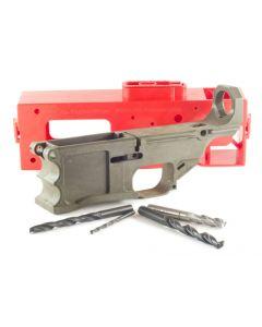 Polymer 80 .308 Warrhog 80% Polymer AR10 Lower Kit- OD Green