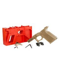 Polymer 80 PF940C 80% Compact Pistol Frame Kit V1- FDE | Compatible with Glock 19/23 Gen 3