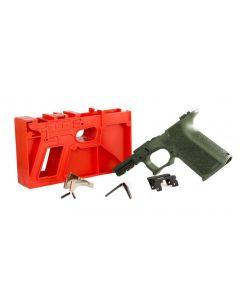 Polymer 80 PF940C 80% Compact Pistol Frame Kit V1- OD Green | Compatible with Glock 19/23 Gen 3