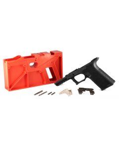 Polymer 80 PF940 80% Full Size Pistol Frame Kit V2 - Black | Compatible with Glock 17/22