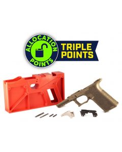 Polymer 80 PF940 80% Full Size Pistol Frame Kit V2 - FDE | Compatible with Glock 17/22