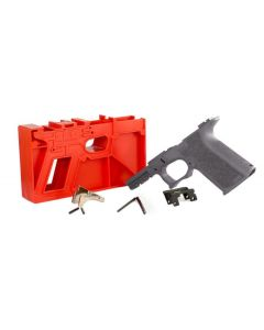 Polymer 80 PF940C 80% Compact Pistol Frame Kit V1- Gray | Compatible with Glock 19/23 Gen 3