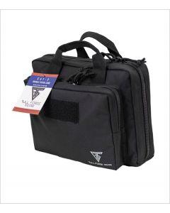 "Full Forge Gear Cat-2 Double Pistol Case - Black | 12""x10"""